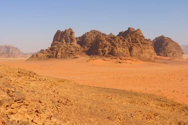 Il deserto del Negev e la citta di Eliat