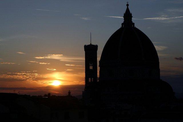 Tramonto Firenze vista Duomo